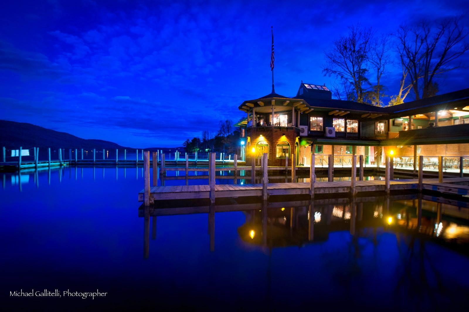 Boathouse At Night!